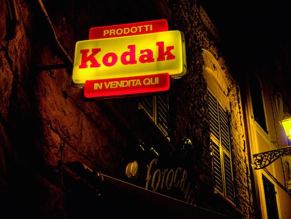 Vintage Kodak sign